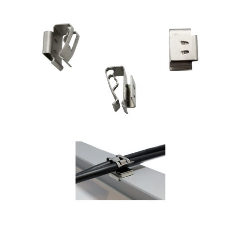 90 degree solar cable clips