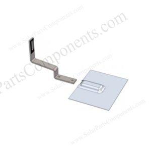 solar panel flat tile hook flashing