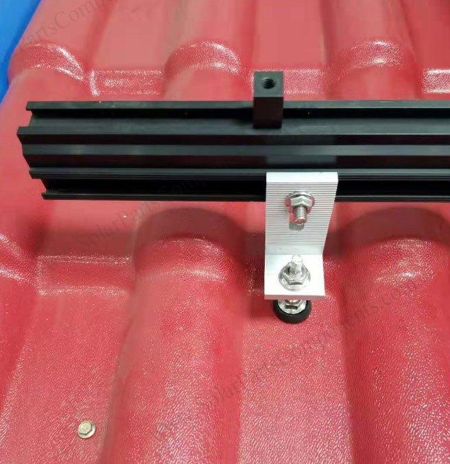 solar panel mounting hanger bolt kit