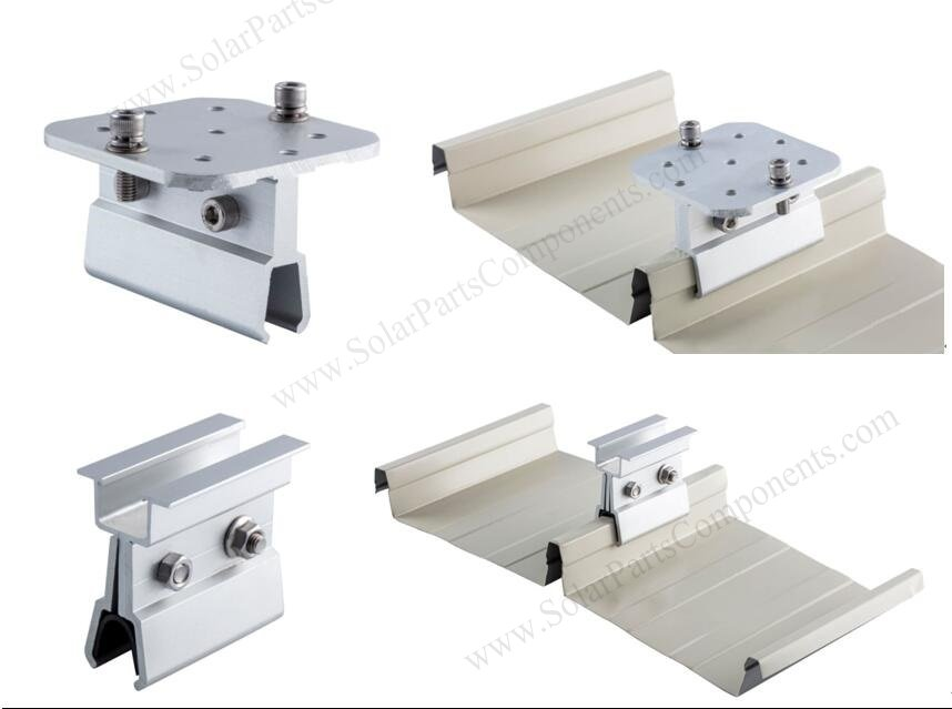 standing seam solar mounting clamps