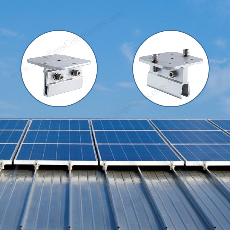 solar metal roof clamps