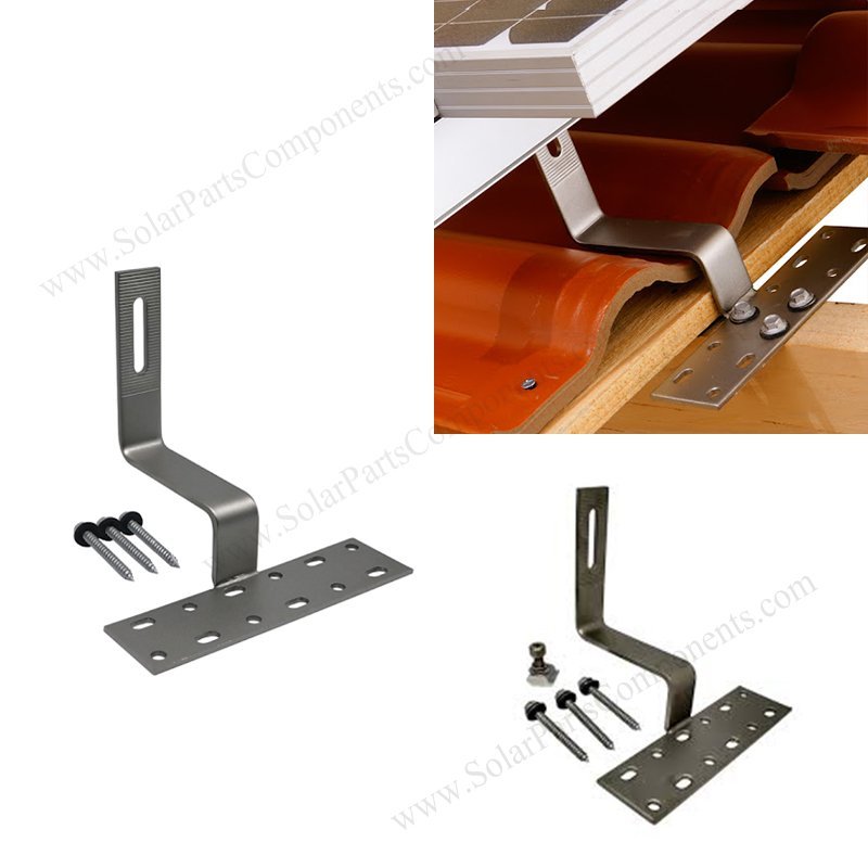solar roof hook stainless steel