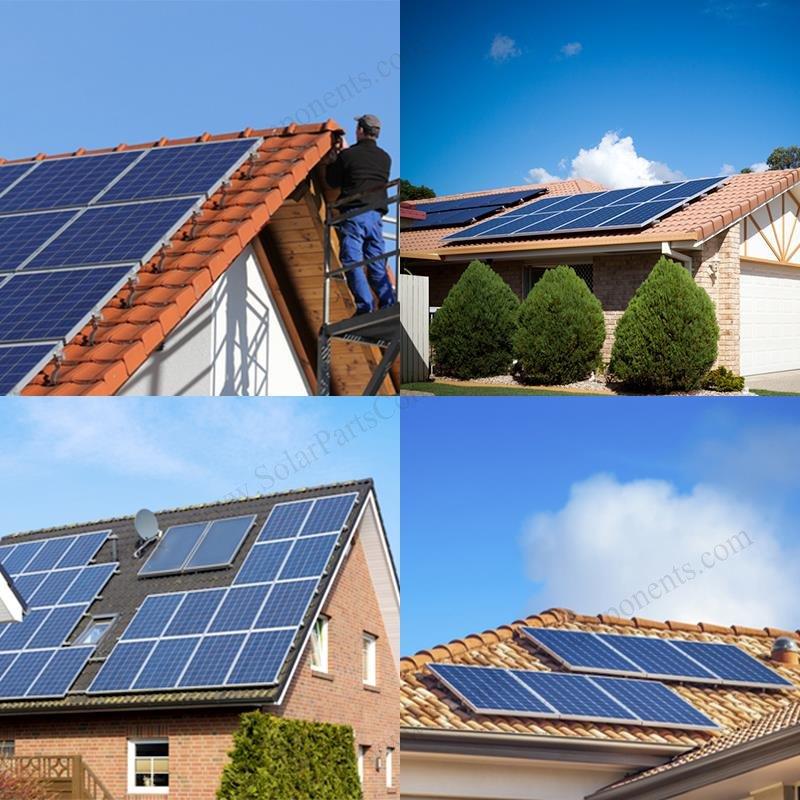 installing solar panels on tile roof