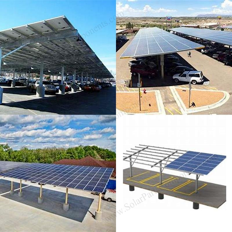pv panel carport mounting
