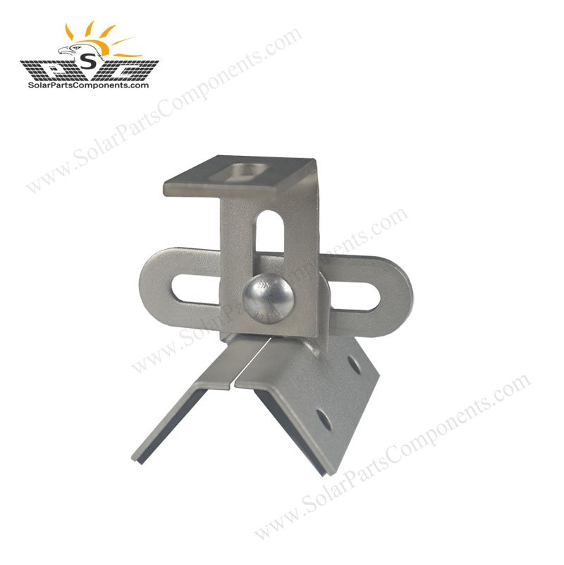 Multifunctional metal roof clamps for solar