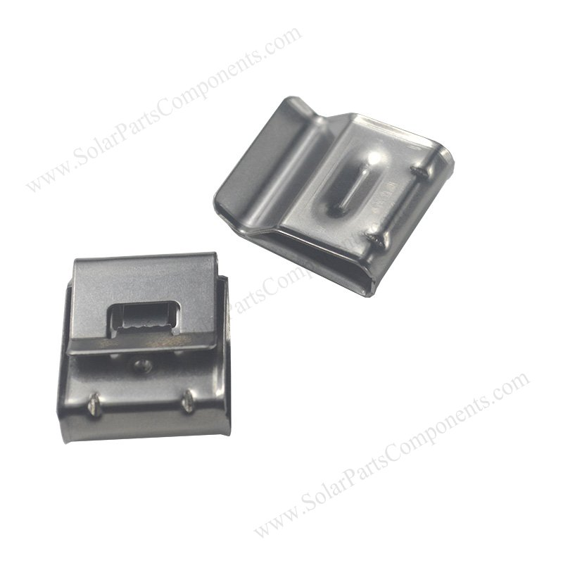 2 line solar wire clips
