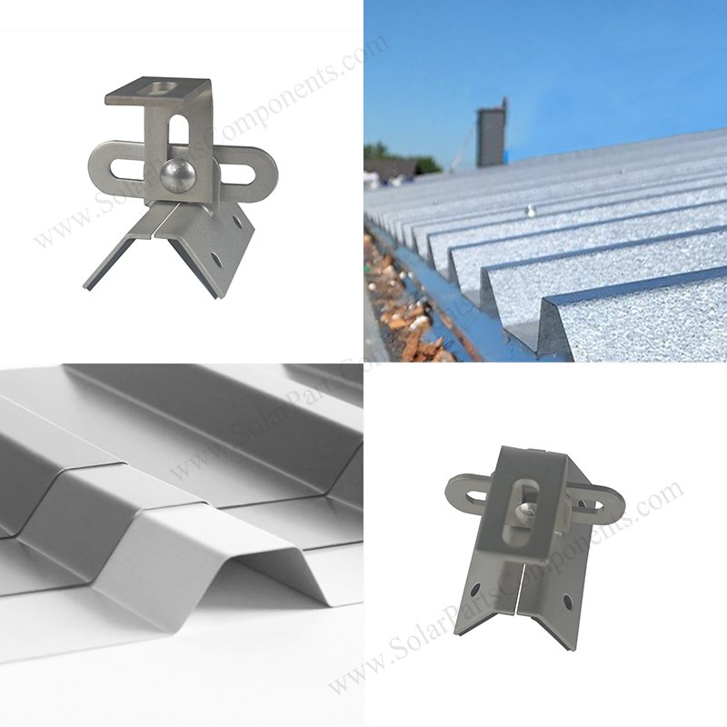 Universal metal roof solar mounting system