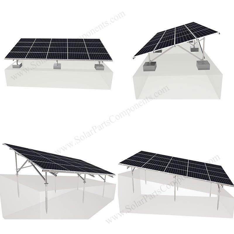 ground mount solar racking