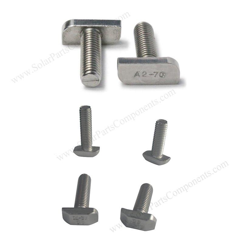 PV module T bolt fastener