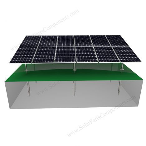 Solar Ground Racking System-Carbon Steel-N Type-3