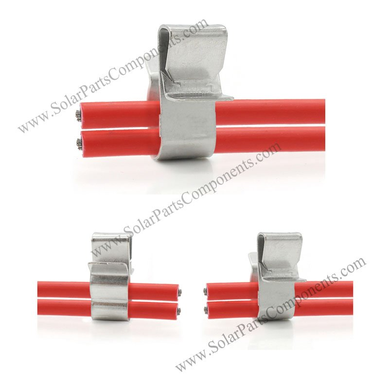 solar panel cable clips