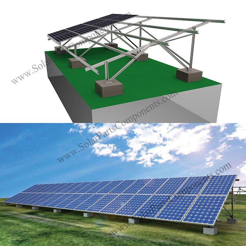 Solar Ballasted Ground Mount