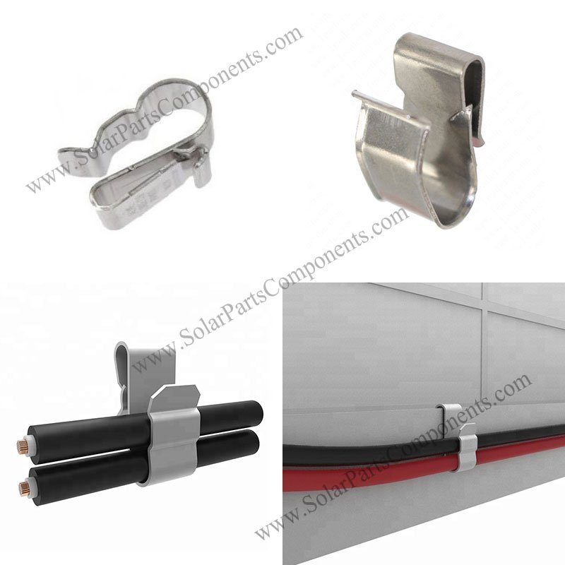Stainless Steel Solar Cable Clips
