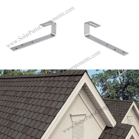 solar shingle asphalt roof mounts