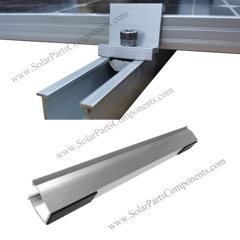 aluminum rails for solar panels
