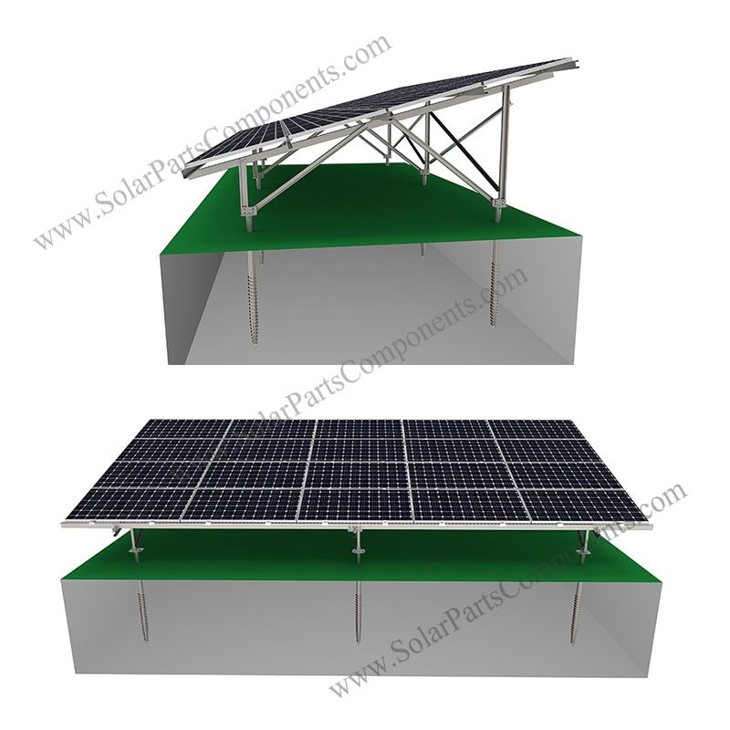 pv ground racking system