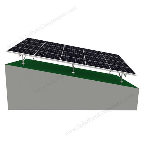 solar slope ground mounting for carbon steel-1