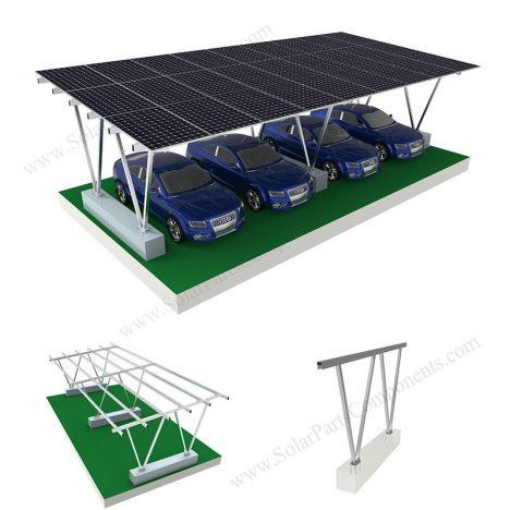 aluminum solar carport