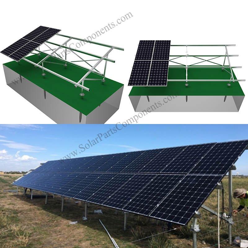 Aluminum Solar Racking