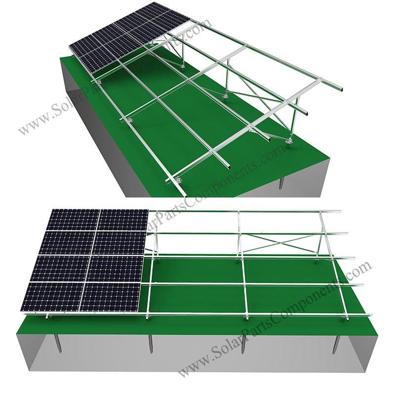 aluminum solar panel mounting system