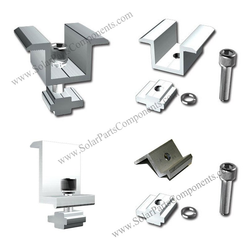 solar panel mid clamp & end clamp
