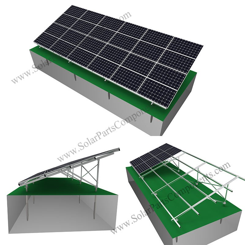 Aluminum Solar Panel Mounting System