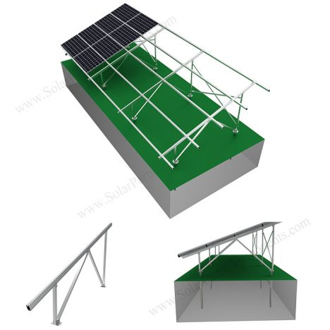 pv ground mount aluminum SPC-GA-4H-W