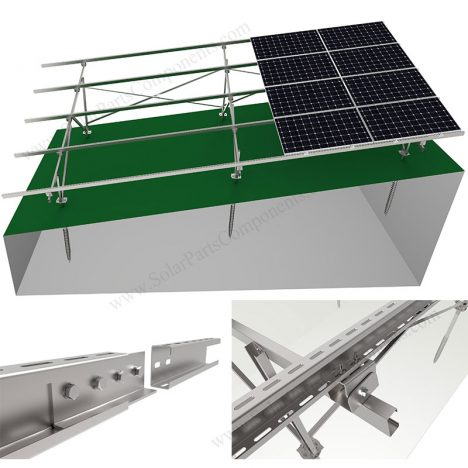 Solar Panel Sloping Ground Mounting Systems