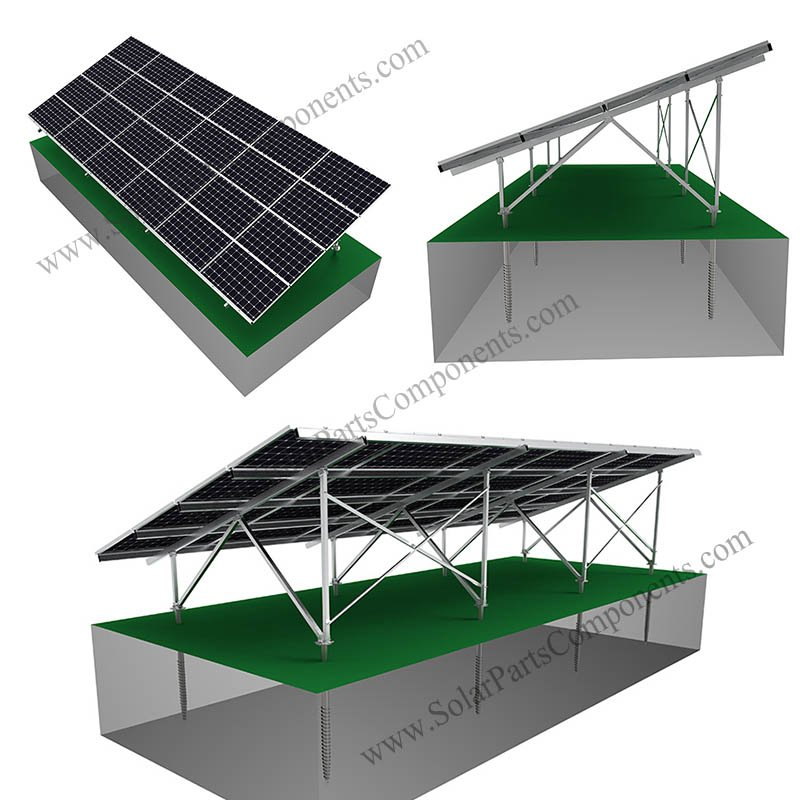 Solar Panel Ground Array