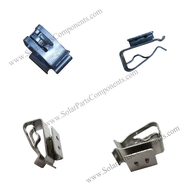 solar PV cable clips for two lines