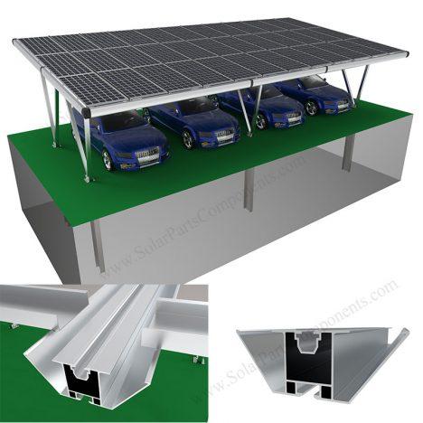 waterproof solar carport