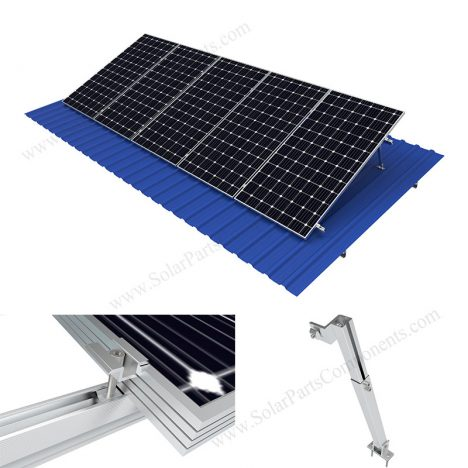 solar metal roof mounting adjustable