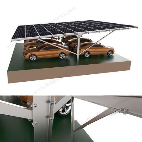 galvanized steel solar carport frame