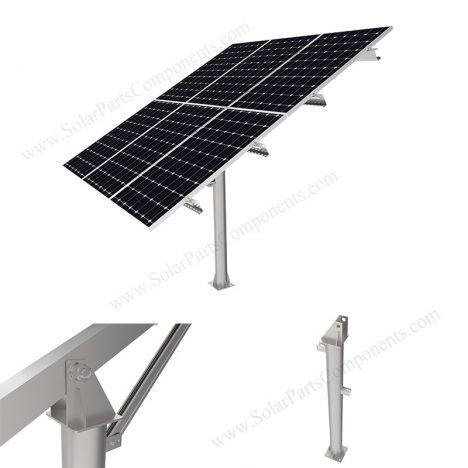 solar panel pole mounting