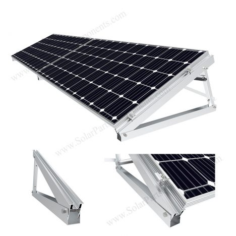 solar triangle bracket mount