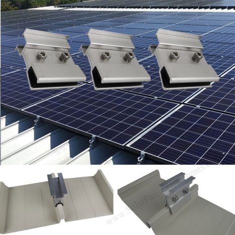 solar metal roof clamp without rail