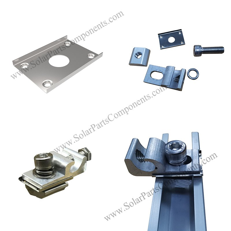 stainless steel grounding clip for PV module