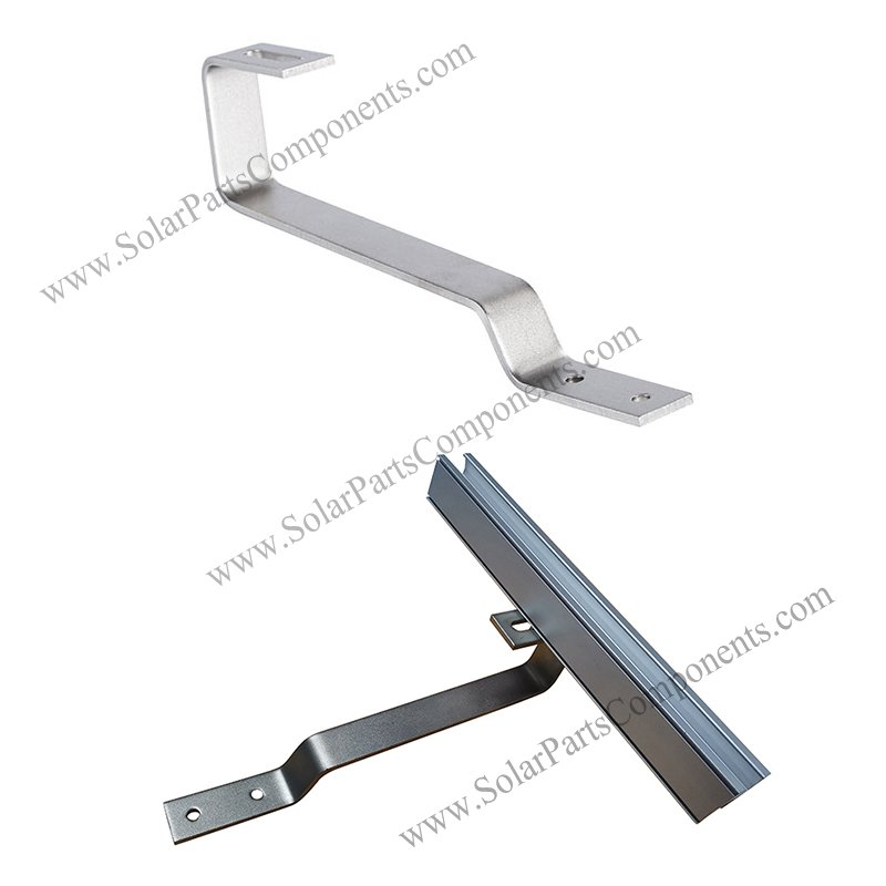 solar flat tile hook for bottom mounted