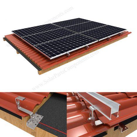 solar tile roof mounts SPC-RF-IK15-DR