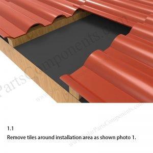 Solar Tile Roof Hooks Installation,SPC-IK-01-1