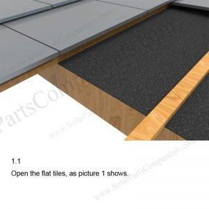 Solar Tile Roof Hooks Installation-SPC-IK-11-1.1