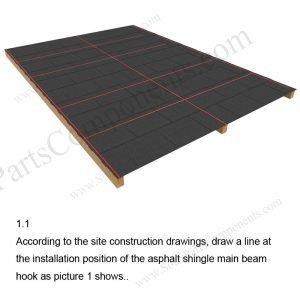 Solar Tile Roof Hooks Installation-SPC-IK-14-1.1