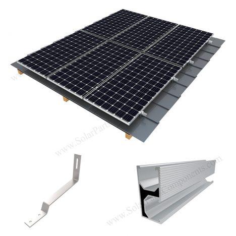 flat roof solar racking,SPC-RF-IK12-DR