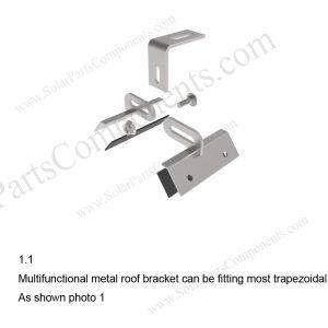 Solar Metal Roof Clamp Installation-SPC-CK-02-1.1