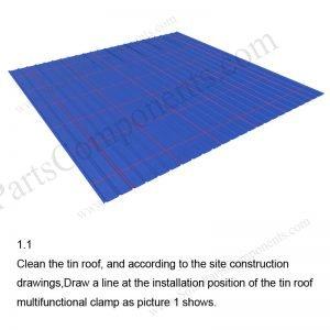 Solar Metal Roof Installation-SPC-RF-CK02-HR-1.1