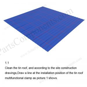 Solar Metal Roof Installation-SPC-RF-CK02A-HR-1.1