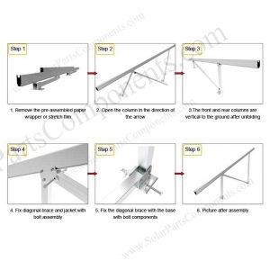 Solar Ground Installation-SPC-GA20-4H-CN-Step-1