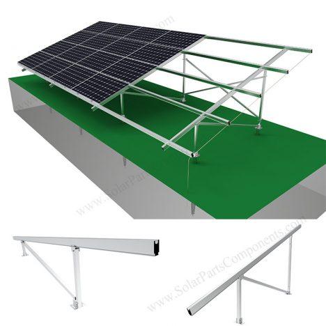 Solar ground mounting structure aluminum,SPC-GA20-4H-CN