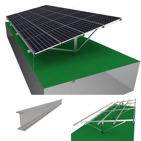 pv panel pole mounting system,SPC-HA-4H-PCW