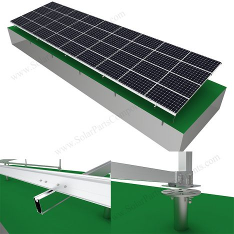 Solar ground mount landscape,SPC-GA-4H-N